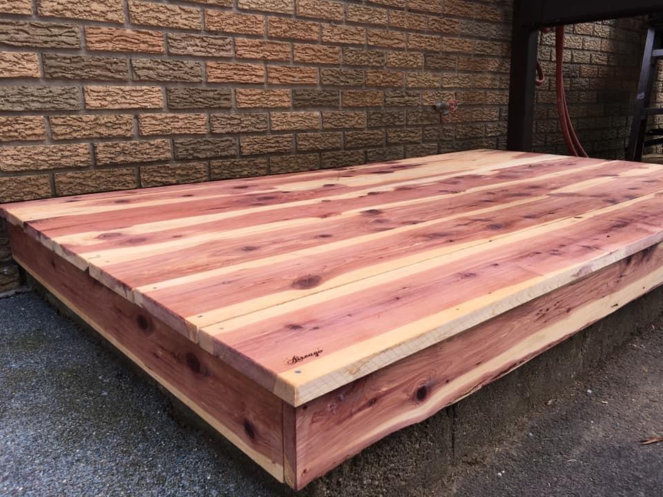 Aromatic Red Cedar Platform